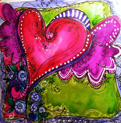Okay I keep looking for lettering and man this site has loads and better yet Joanne Sharpe has classes on line very reasonable!!!! And her art is soooo inspiring....She's been published in many 'art' journals and it's easy to see why..grab a tea and have a nice visit on her site....Inspiration awaits!!!!!