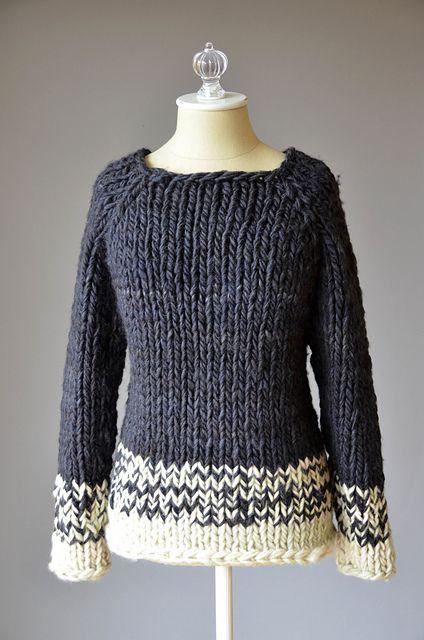 Ravelry: Transitions Sweater pattern by Universal yarn Design Team