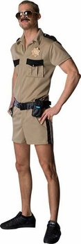 Classic Adult Lt. Dangle Reno 911 Costume