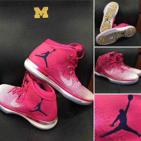 6778175d5c3b Air Jordan 31 Coaches vs Cancer UNC PE Aunt Pearl