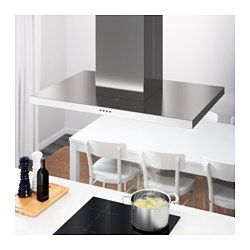 IKEA - SVÄVANDE, Lubose tvirtinamas gartraukis, 5 metų garantija. Apie sąlygas skaitykite garantijos buklete.Valdymo skydas priekyje, kad būtų patogu pasiekti ir naudoti.Pridedami 3 riebalų filtrai, veiksmingai sugeriantys virtuvės kvapus. Filtrus paprasta išimti ir galima plauti indaplovėje.Su keturiomis šviesios diodų LED lemputėmis. Tinkamai apšviečia nedidelius plotus ir suvartoja mažiau elektros energijos.Dvejopas veikimas: galima jungti prie ventiliacijos naudojant ortakį arba…