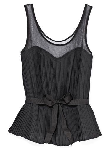 Cute Sheer Holiday Top  Sizes XXS–XXL, American Eagle Outfitters, $35, American Eagle Outfitters stores and ae.com