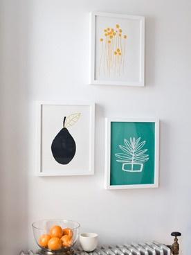 Lotta Jansdottir's site: Wall Art, Jansdott Prints, Artists, Frames Pictures, Jansdotter Prints, Hands Screens Prints, Art Ideas, Graphics, Beautiful Prints