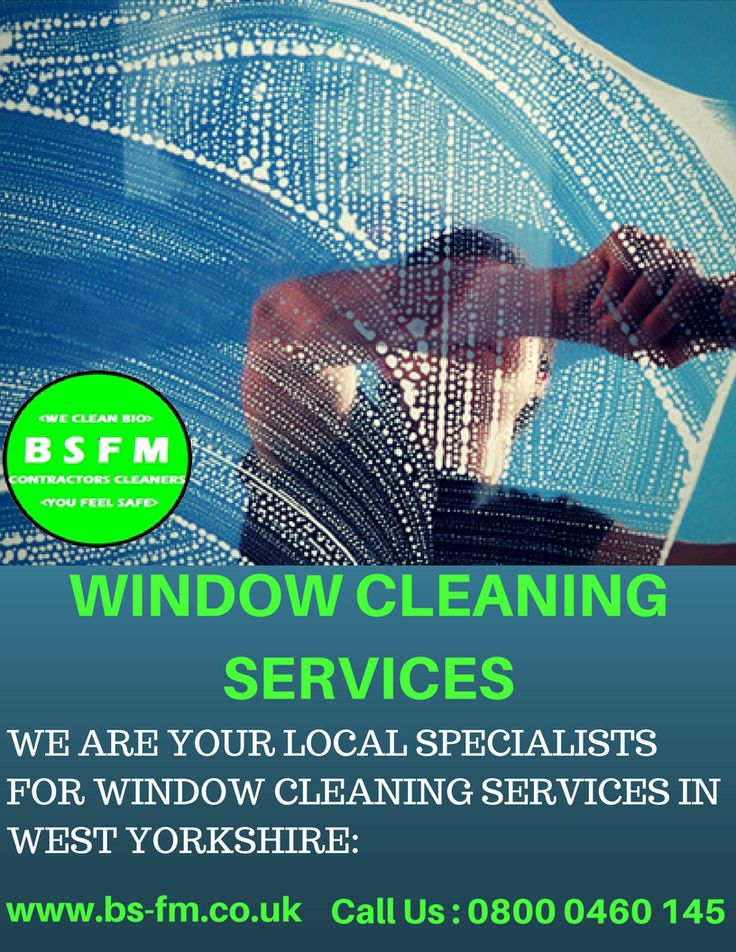 It can be difficult to choose a company to rely on for window cleaning services. BSFM offer a highly experienced team with a range of commercial cleaning techniques in West Yorkshire. All professionals are trained and know window cleaning inside out, due to our extensive experience in this industry. Call @BSFM Facility Management Ltd at 0800 0460 145 now