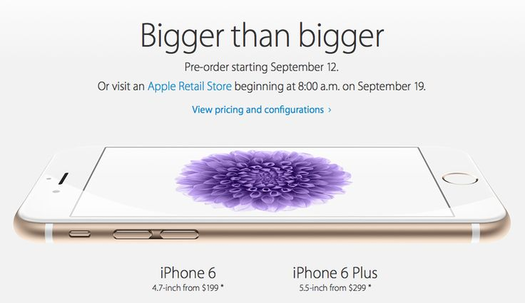 Interested in the iPhone 6 Plus? You might not get it until Thanksgiving.  After Apple's iPhone 6 smartphones went on sale for preorder Friday, the arrival times for the iPhone 6 Plus were quickly pushed back several weeks later than those of its smaller sibling.