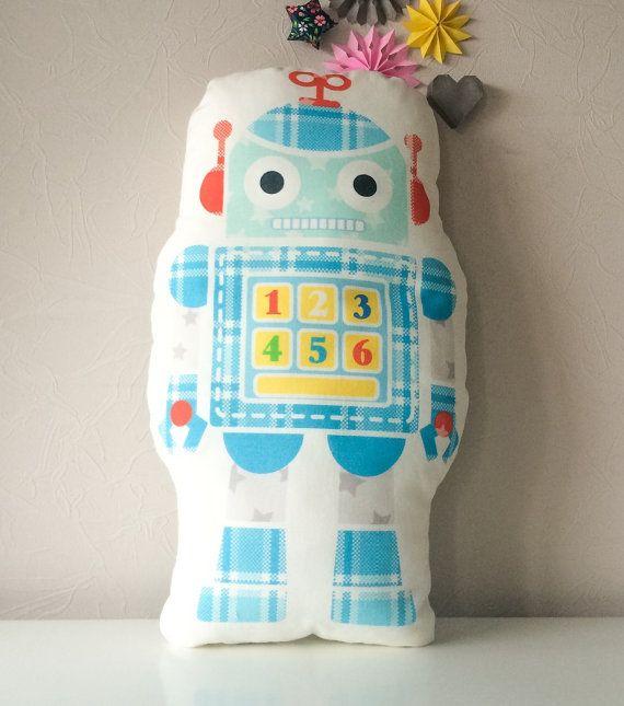 Free shipping robot pillow decorative pillows от BeTheOriginal