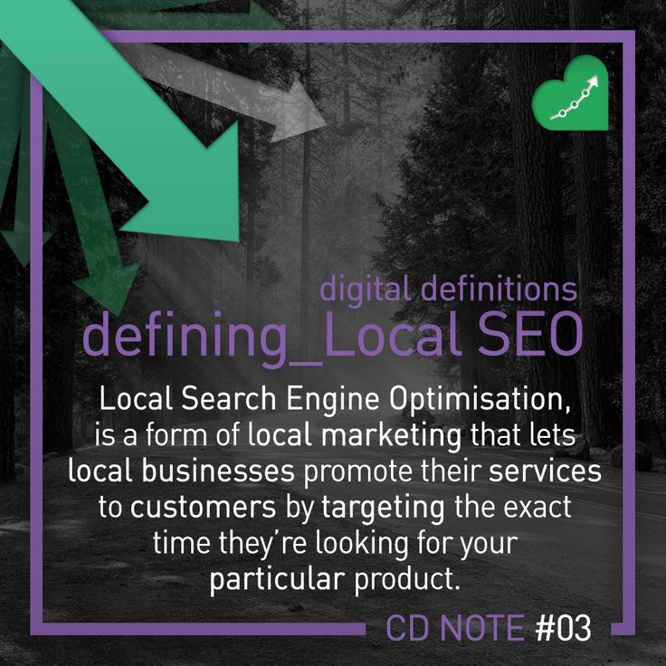 Our third entry in the Digital Definitions series. Today - #localseo Enjoy our quick reference guide to all terms #digitalmarketing ! #crescatdigital #digitaldefinitions #marketing #advertising #digitalmarketingagency