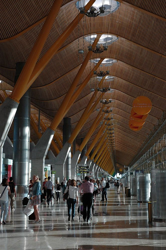 AIRPORT by armando cuéllar on 500px, Barajas Airport in Madrid, Spain.