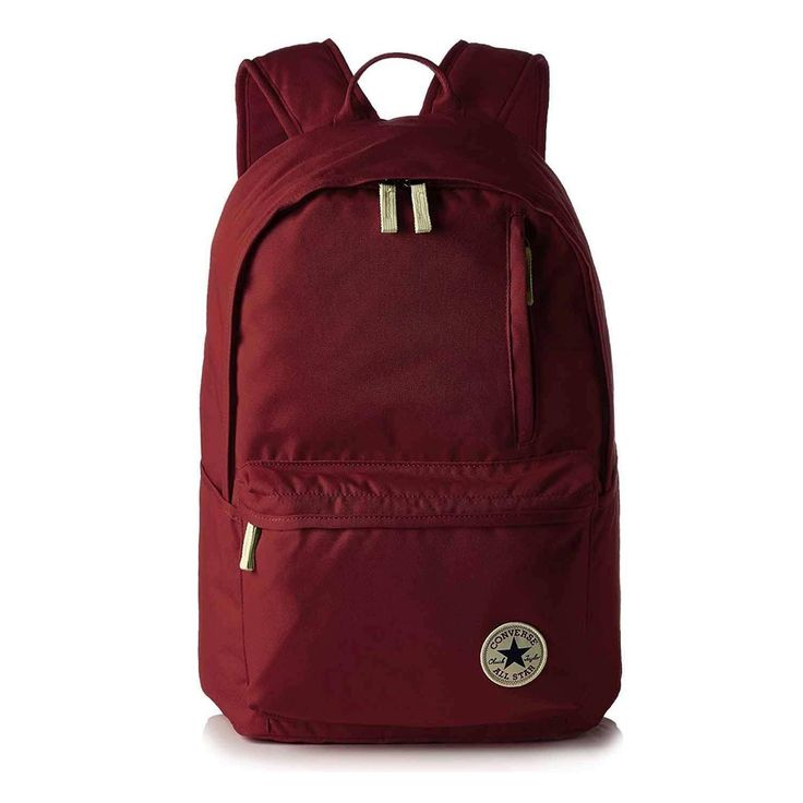 UNISEX CONVERSE Backpack Core Poly ALL STAR City Backpack Leisure Travel Holiday Adult Children Daypack Backpack Chuck Taylor Star Bag 25-29 liters 10002652 Bordeaux 48x28x17 cm