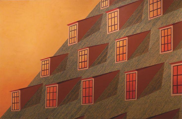 dyjewska, the Great Mill, 130x200cm, oil on canvas