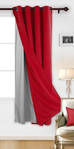 Deconovo Rideau Salon Design Moderne Doublure Multifonctionnel pour