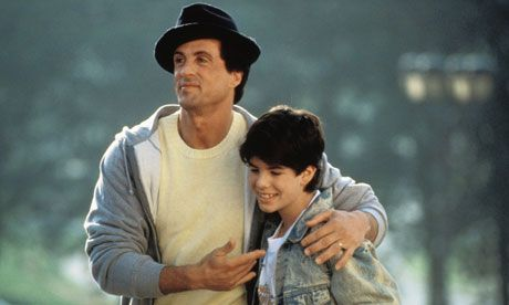 Sylvester & Sage Stallone Rocky 5