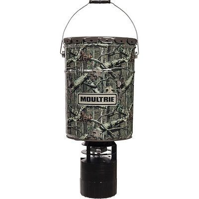 Game Feeders and Feed 52504: Moultrie 6.5 Gallon Pro Hunter Hanging Deer Feeder Mobu Camo - Mfg-13058 -> BUY IT NOW ONLY: $57.05 on eBay!