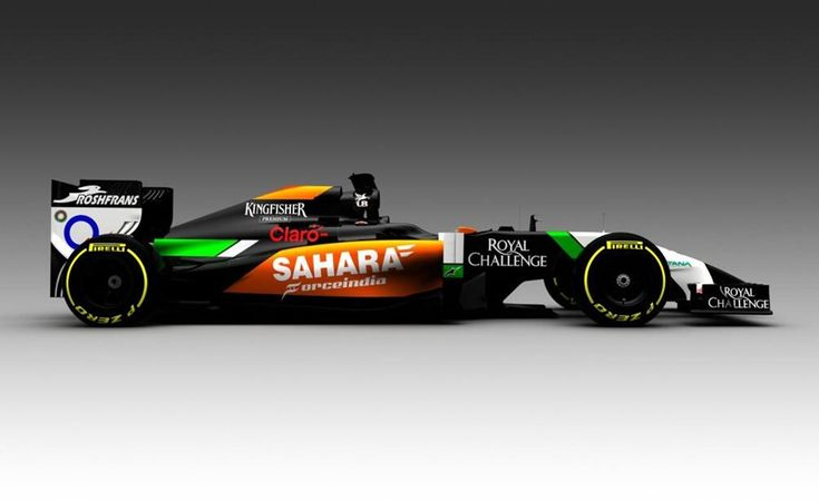 team force india were the first to release a picture of their new car this is checo perez car. Black Bedroom Furniture Sets. Home Design Ideas