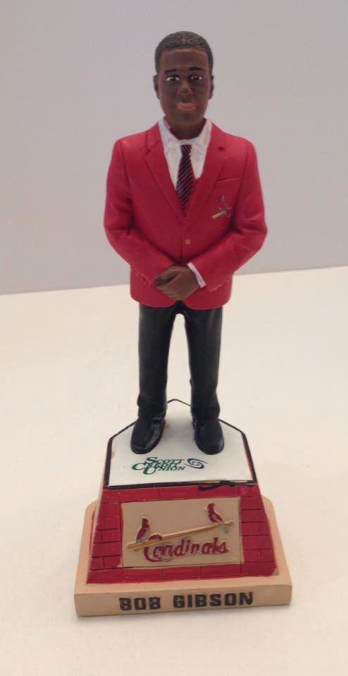 fc8cd988 Bob Gibson Hall of Fame Statue, St Louis Cardinals SGA Busch Stadium ...