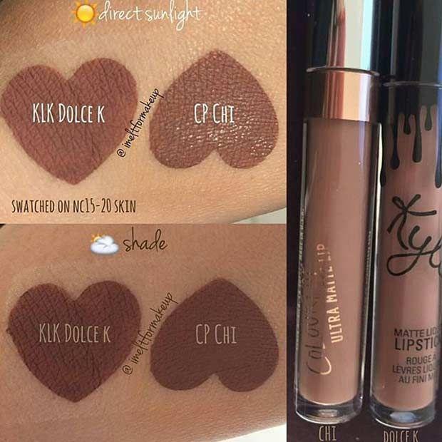"""Kylie Jenner """"Dolce K"""" Dupe"""