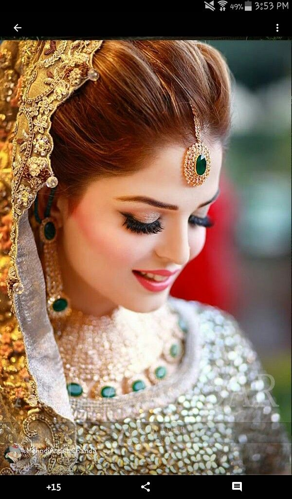 Beautiful bridal makeover