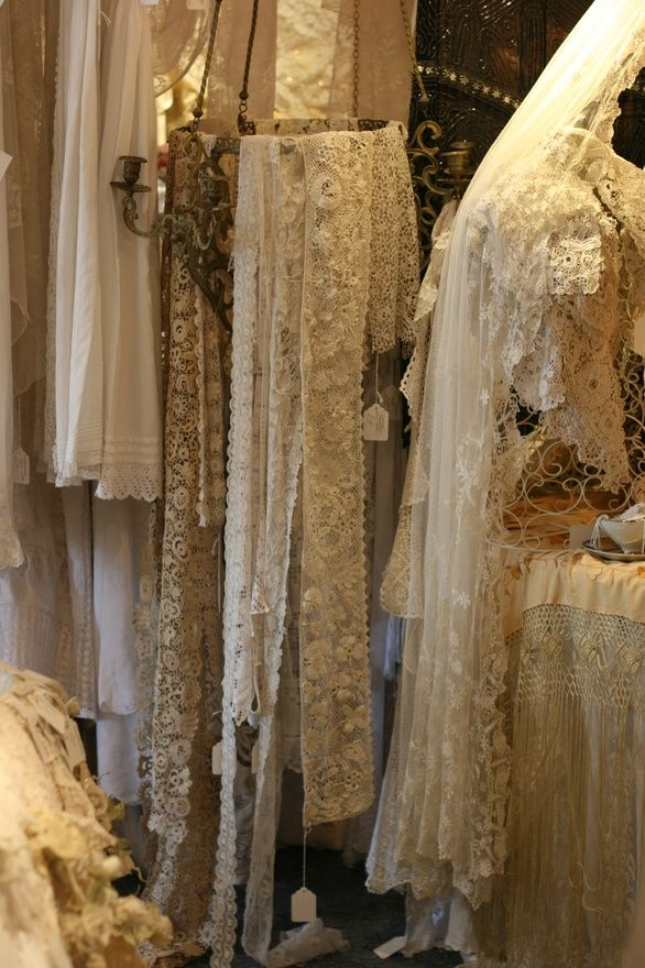 Beautiful Lace Display