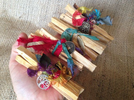 Palo santo wood incense 3 stick bundle  by thisthatandthese