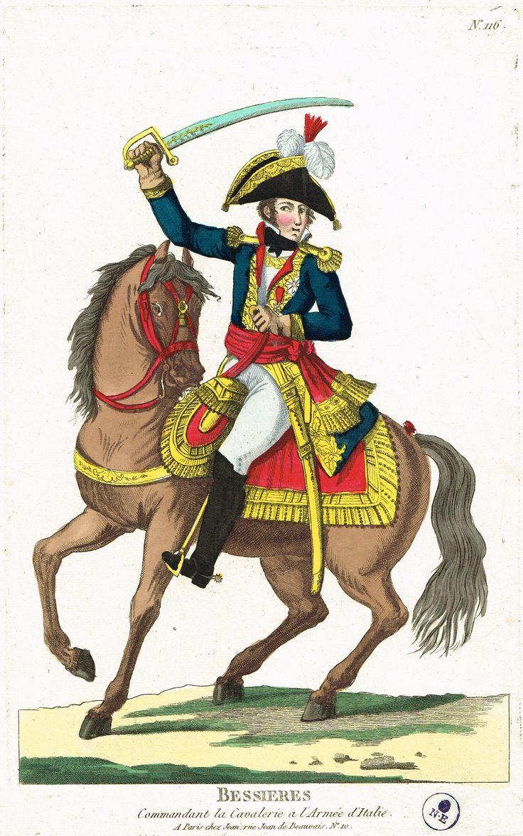 BESSIERES - Commandant la Cavalerie à l'Armé d'Italie - à Paris chez Jean