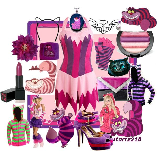 """""""Halloween Costume: Cheshire Cat"""" by starrz218 on Polyvore"""