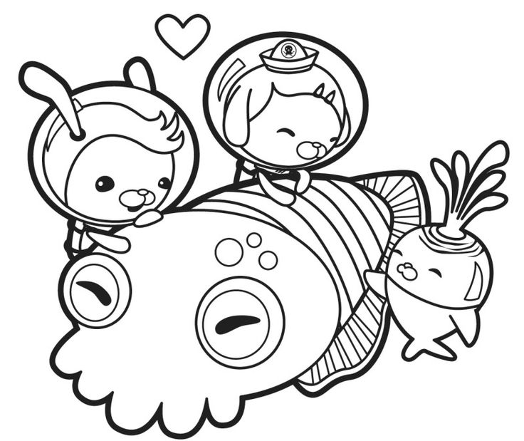 octonauts gup x coloring pages | 218 best images about Octonauts on Pinterest | Pirates ...