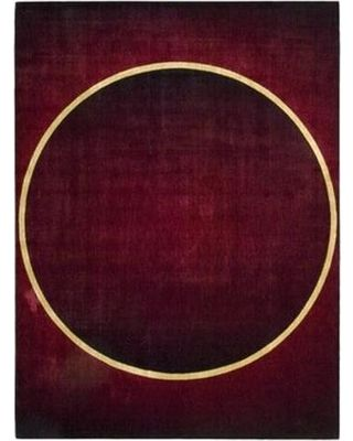 Nourison Parallels Geometric Burgundy Rug - Burgundy - Size 2 x 59 from Overstock | BHG.com Shop