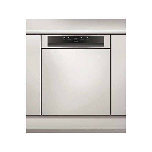 Whirlpool WBC3C26X Semi intégré 14places A++ Acier inoxydable lave-vaisselle – lave-vaisselles (Semi intégré, A, A++, Grande taille, Acier…