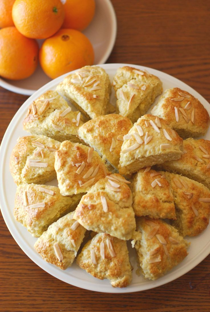 Orange and Almond Scones | | Our Meals | Pinterest