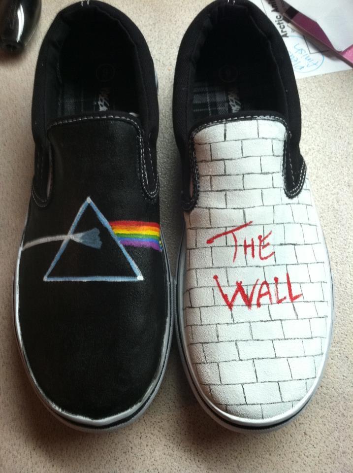 Pink Floyd Shoes by Melinda