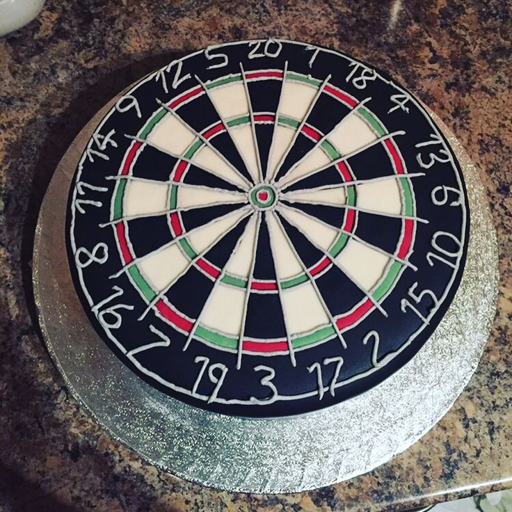 Homemade Dart Board
