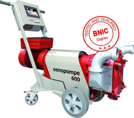 Pompa ad uso enologico OENOPOMPE: l'elastomero testato e promosso dal BNIC a Cognac | Vinification et techniques | Scoop.it