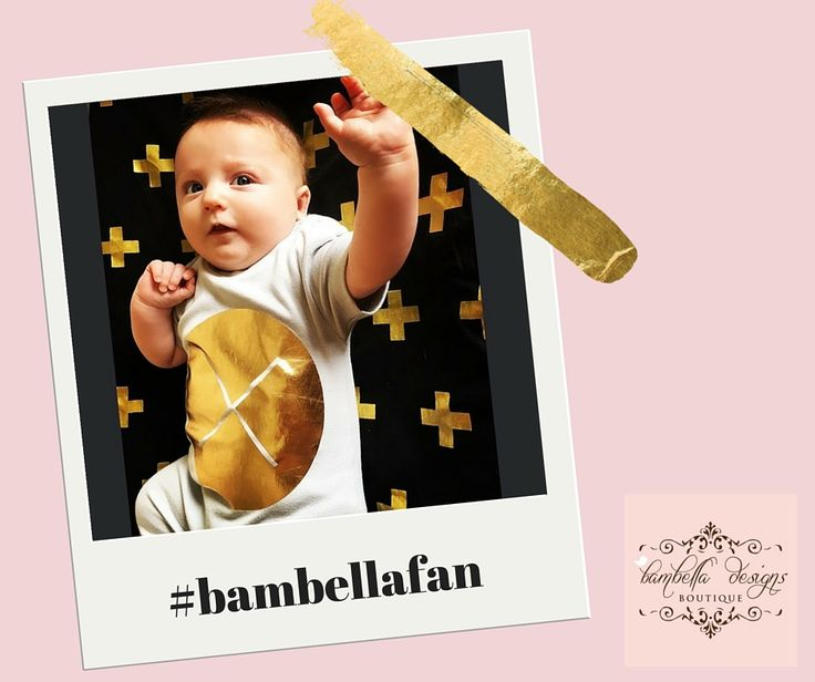 Gold Crosses Pram Liner from Bambella Designs