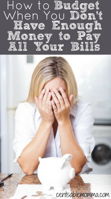 You don't know where to turn, because you have a pile of bills staring at you and not enough money to pay them all. What do you do? Check out these 5 tips to help you budget when you don't have enough money to pay all your bills for some help.