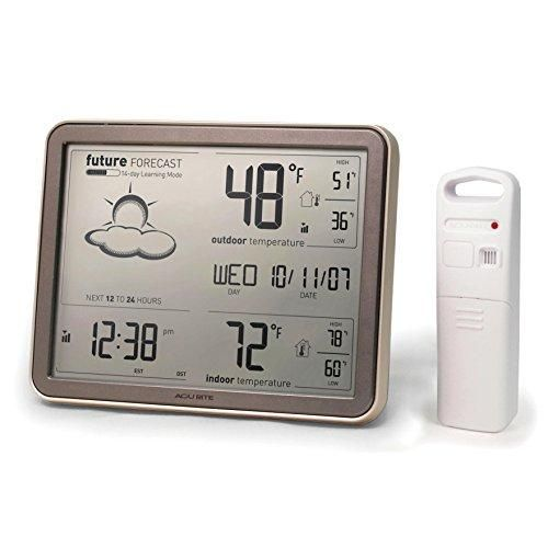 AcuRite 75077 Wireless Weather Station, Atomic Clock