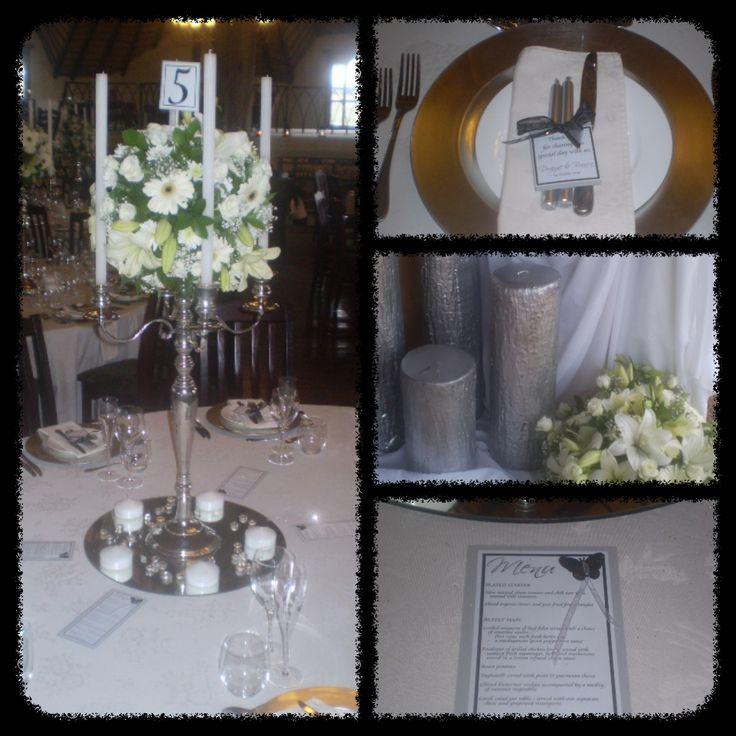 WEDDING : white, silver.