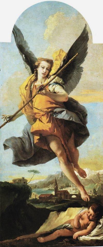 Giovanni Battista Tiepolo - Angelo custode Civici musei e gallerie di storia e arte (Udine)