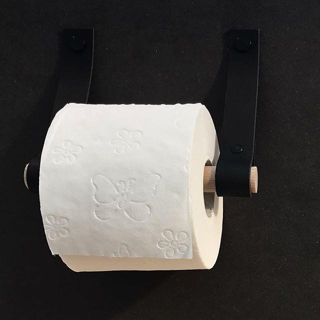 Leren Toiletrolhouder Handlesandmore Leren Badkameraccessoires