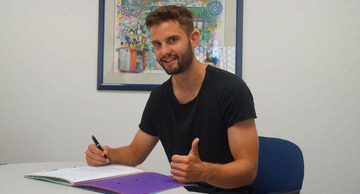 MSV Duisburg: Mittelfeldspieler Tim Albutat verlängert Vertrag
