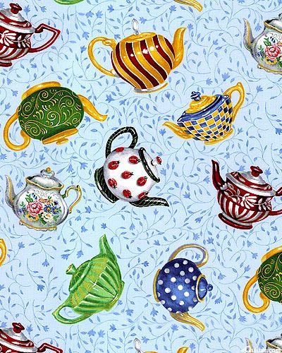 Tea Party - Tea Pot Collection - Sky Blue