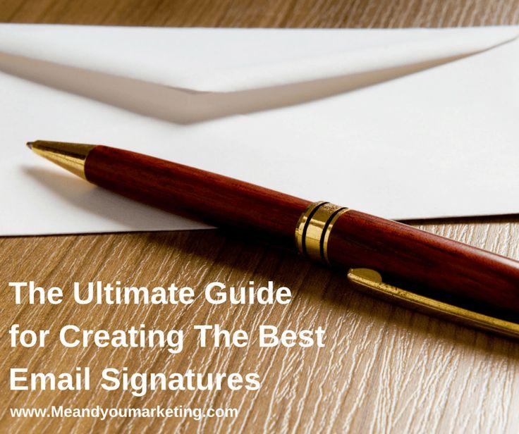Email signatures best practices
