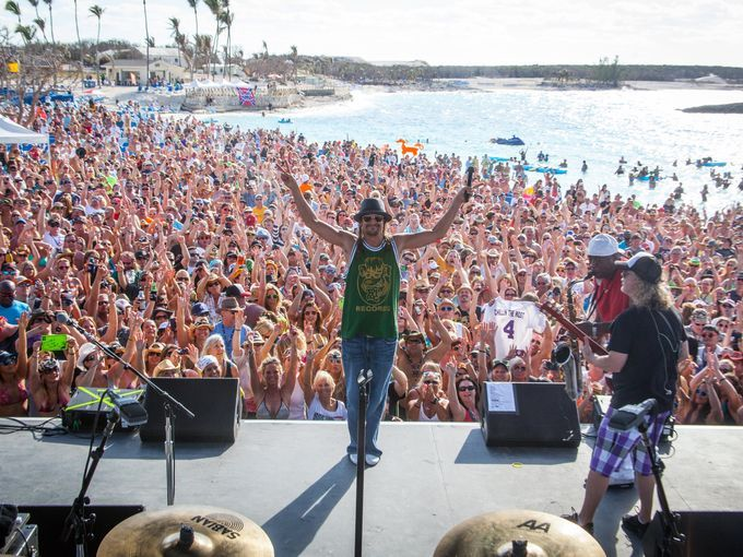 "The Kid Rock Cruise will take over Great Stirrup Cay in the Bahamas, turning the private island into a ""Redneck Paradise"". (Photo Credit: Will Byington)"