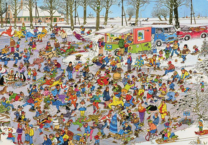 On Thin Ice, Jan Van Haasteren, 3,000 Pieces
