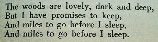 ~Robert Frost