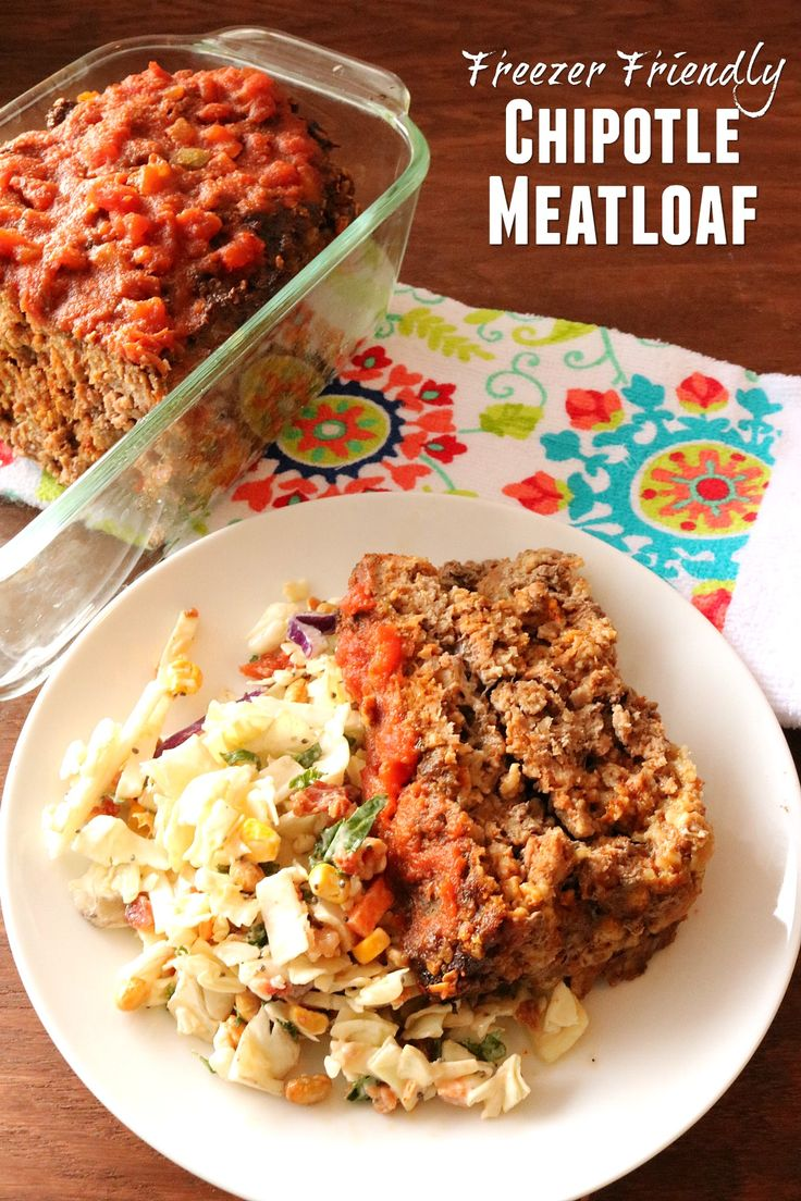Freezer Friendly Chipotle Meatloaf Recipe from 5DollarDinners.com