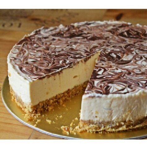 Amarula cheesecake~no bake