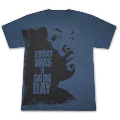 Ice Cube 'Today Was A Good Day' Blue T-Shirt (X-Large)