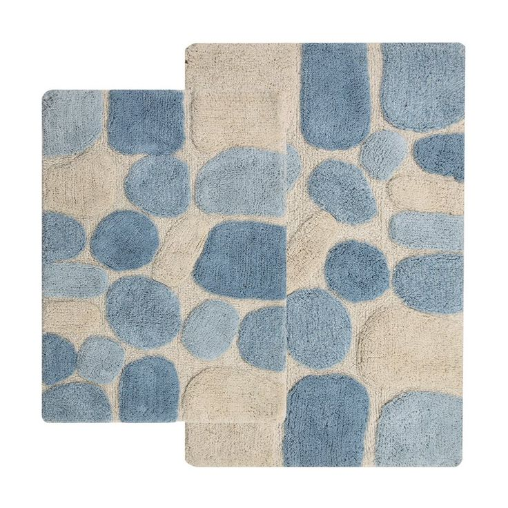 The Brayden Studio Contemporary Bath Rug Set (Set of 2) is a set of essential bathroom rugs that do not compromise on style for the sake of functionality. The rugs in this set are made from 100% pure cotton. This helps in complete absorption of any water spilt. It features anti-skid latex backing that prevents the rug from slipping, even if placed on a wet surface.<br/><br/>These Contemporary Bath Rug Set (Set of 2) from Brayden Studio is made with precision and its dist...