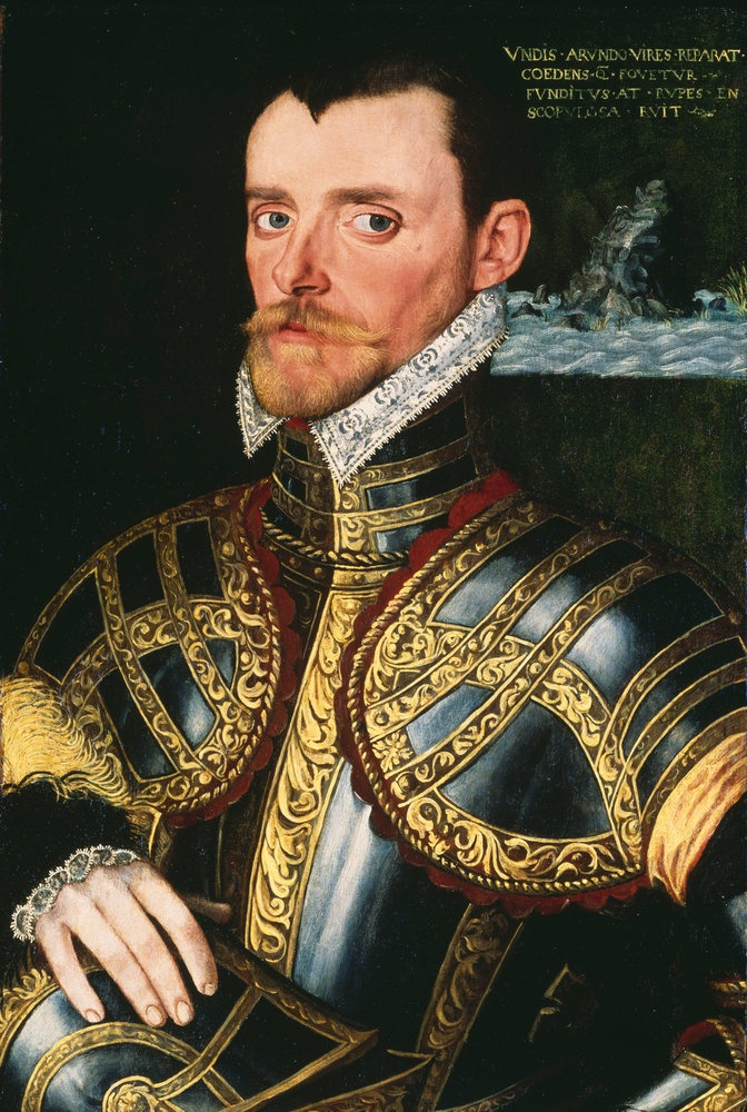 Admiral Sir John Hawkins 1532 – 12 November 1595- was an English shipbuilder, naval administrator and commander, merchant, navigator, and slave trader. As treasurer and controller of the Royal Navy, he rebuilt older ships and helped design the faster ships that withstood the Spanish Armada in 1588. One of the foremost seamen of 16th-century England, he was the chief architect of the Elizabethan navy. In the battle in which the Spanish Armada was defeated in 1588. He was knighted for…
