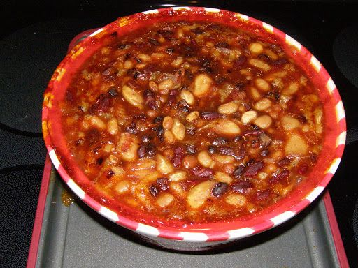 ... down home baked beans in the crock pot down home baked beans recept